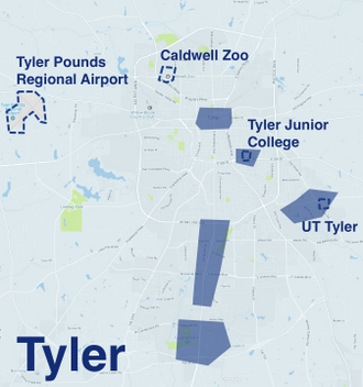 Where to Drive in Tyler | Uber