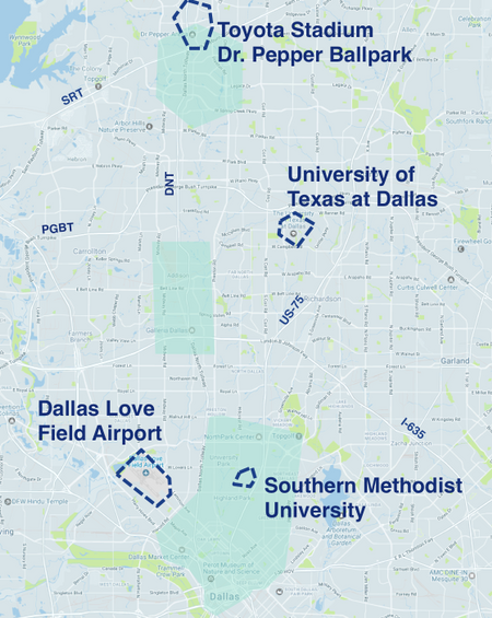 Where To Drive In Dallas Fort Worth Uber